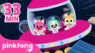 Rocket Song and more | +Compilation | Space Song | Planet Song | Pinkfong Songs for Children