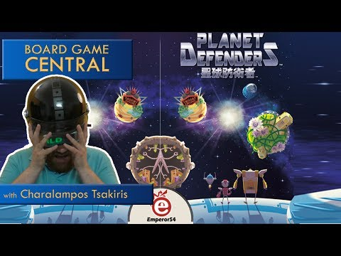 Planet Defenders Review @ Board Game Central