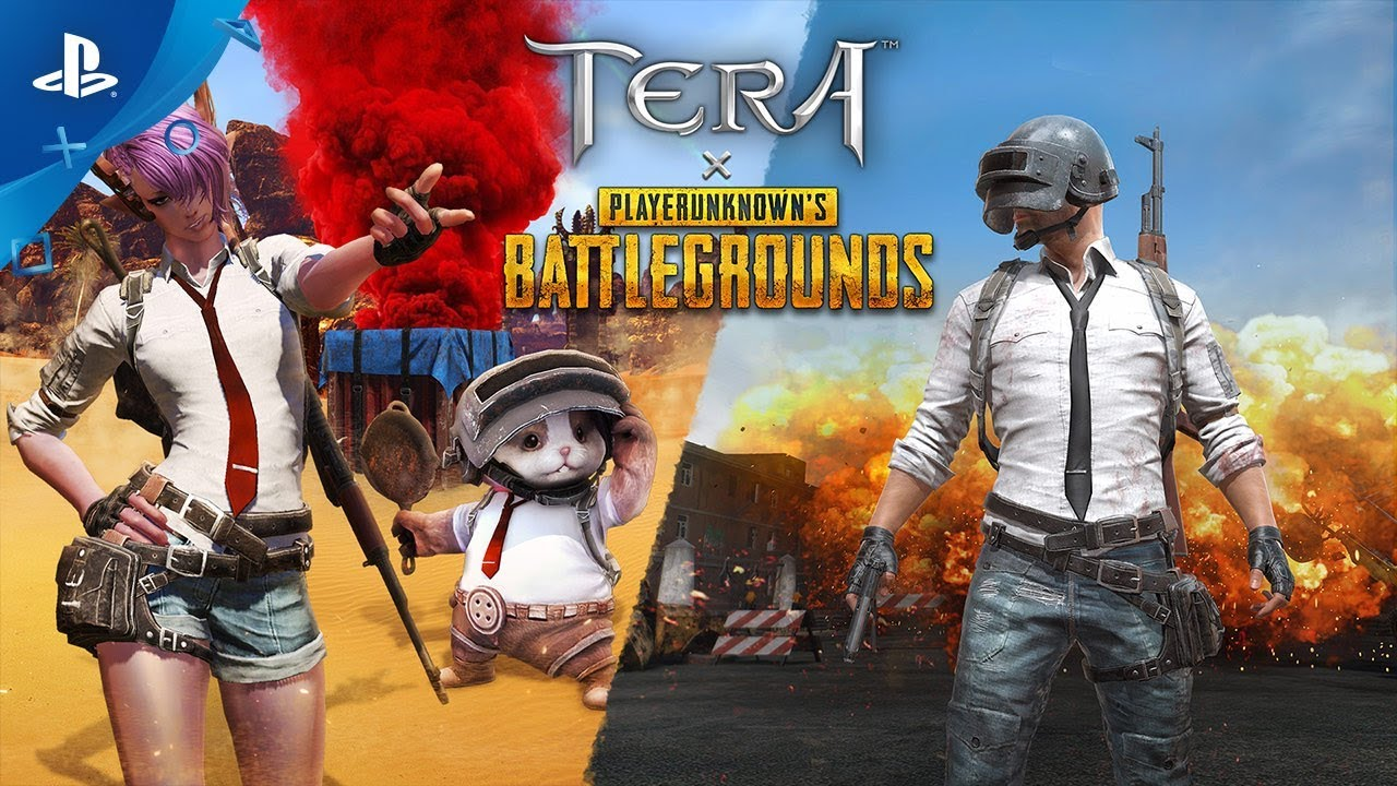 PUBG Visits TERA in March Crossover Event