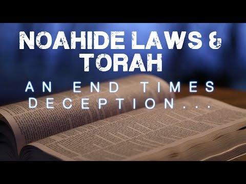 Noahide Laws of the AntiChrist & Hebrew Roots    Mini