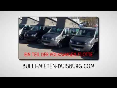 VW Bulli im Ruhrgebiet/Duisburg mieten für Camping-Urlaub oder ein besonderes Erlebnis..