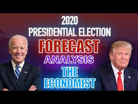 2020 United States Presidential Election According to The Economist Forecast   Biden vs. Trump
