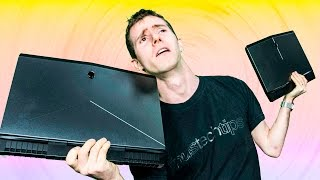 Does the 76lb Alienware 15 come with enough unique features and performance