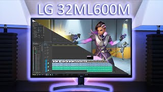 "LG 32"" HDR Monitor Review - LG 32ML600M"