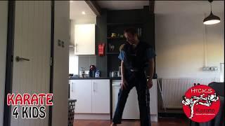 Home Training Tip – Yellow Belt Stepping Kicks