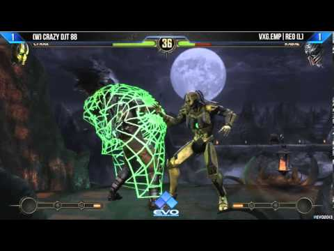 Mortal Kombat - EVO 2013 Grand Finals [Crazy DJT 88 vs VXG.EMP I Reo]