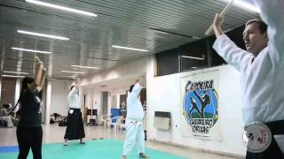 preview picture of video 'Aikido La Plata - Clase Principiantes- 2° parte'