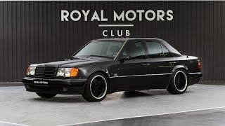 "70 000 dollara 6.0 motor ""yeşka"" Brabus Mercedes-Benz 500E W124"