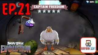 ANGRY BIRDS EVOLUTION - HATCHING PREMIUM EGGS MORE THAN 50 EGGS - CAPTAIN FREEDOM - FOURTH OF JULY