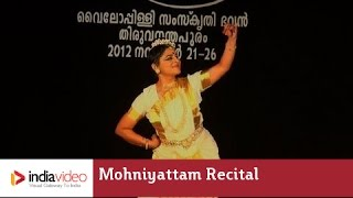 Mohiniyattam performance of Veenapoovu