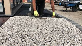 A video of Resin being laid