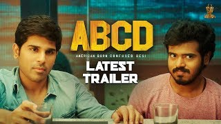 Hero Allu Shirish New Movie ABCD Letest Trailer