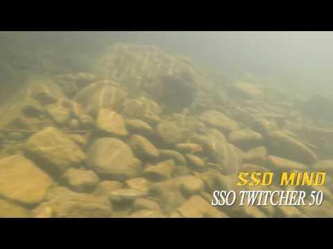 Leurre poisson nageur heavy sinking SSO MINO TWITCHER 50 PAYO 4,7g pêche truite