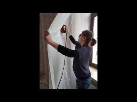 Навеска штор комнаты девочки