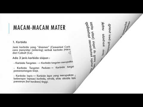Macam macam material alat potong ~ Kelompok 3 - YouTube