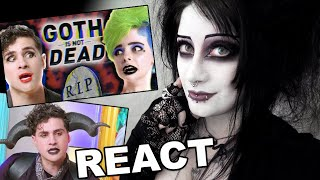 Goth Reacts To Anthony Padilla I Spent A Day With GOTHS | Black Friday