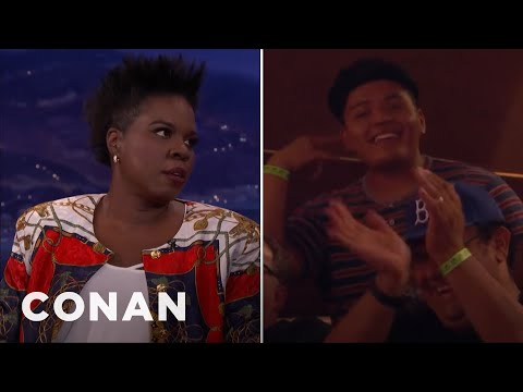 Leslie Jones Finds Love In the CONAN Audience  – CONAN on TBS