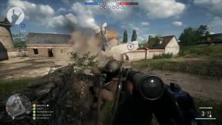 Battlefield 1 Funny Moments   Flame Thrower, Tornado Plane 38# [COUB]