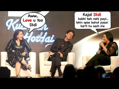 Rani Mukherjee Calls Kajol Didi (Sister) & Ends FIGHT @Kuch Kuch Hota Hai 20 yrs Celebration