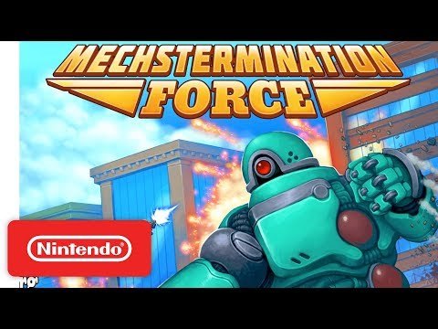 Mechstermination Force - Announcement Trailer - Nintendo Switch thumbnail