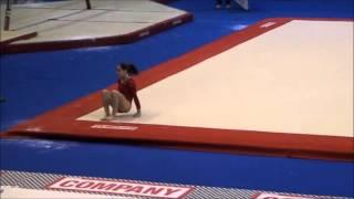 SUPER SCARY FALL: Jordyn Wieber On Floor