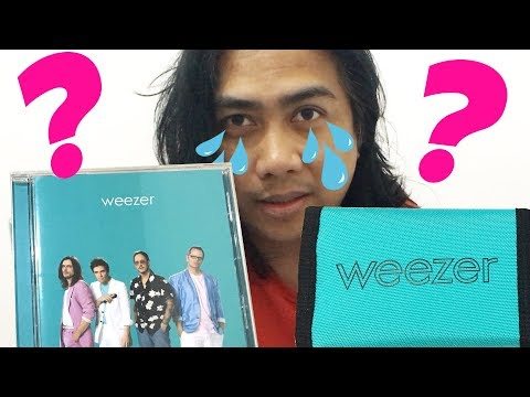 DISAPPOINTED. WEEZER TEAL ALBUM & WALLET UNBOXING. WHERE'S THE SIGNED DOLLAR?