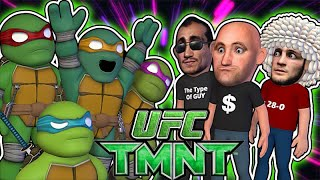 Ninja Turtles hosting Khabib vs Tony UFC 249