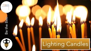 Lighting Candles with Steve Christoforou