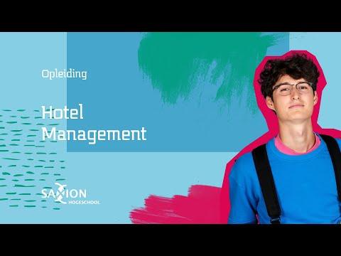 Hotel Management - Online open days   Saxion