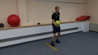 Fußball Technikübungen (4-7 Jahre)
