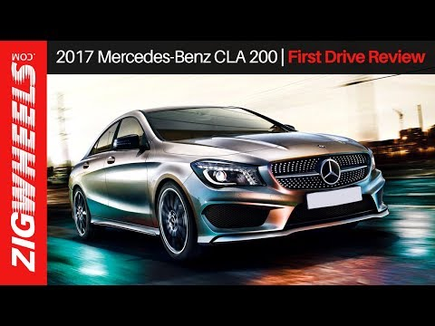 2017 Mercedes-Benz CLA 200 | First Drive Review | ZigWheels