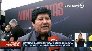 Edwin Oviedo Señala Que Solo Renunciará A La FPF Si La Justicia Lo Halla Culpable