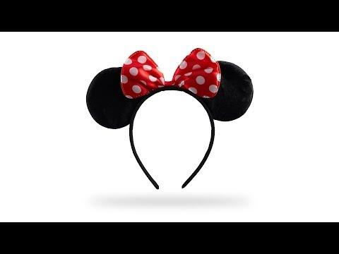 Haarreif Maus mit Ohren und Schleife
