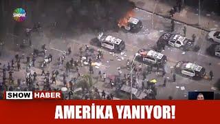 Amerika yanıyor!
