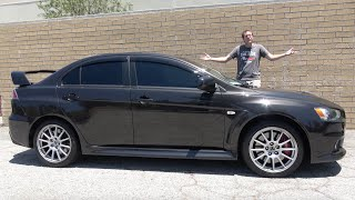The Mitsubishi Lancer Evolution X Was the End of the Evo