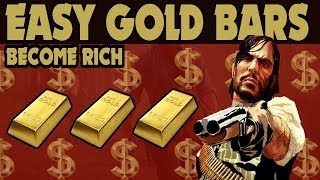 Red Dead Redemption 2 : Free Gold Bars How To Become Rich Easy Guide