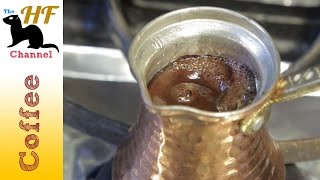 Easy Turkish Coffee Making Guide