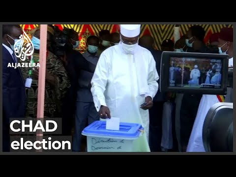 Polls close in controversial Chad election