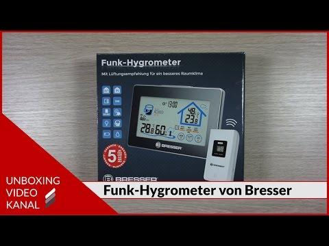 Funk-Hygrometer für Aussen und Innen - Unboxing Planet