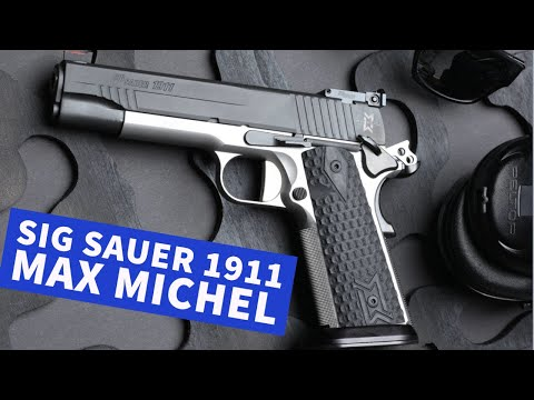 sig-sauer: SIG Sauer 1911 Max Michel in 9 mm Luger − das Topmodell im Test mit Video