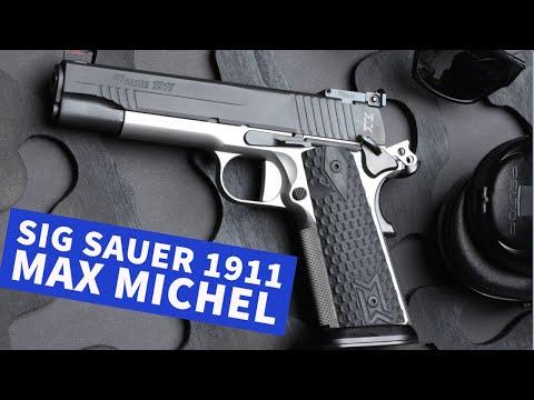 sig-sauer: SIG Sauer 1911 Max Michel in 9 mm Luger − das Topmodell im Test mit Video