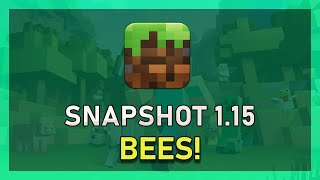 Minecraft - How to Play Java Edition 1.15 Snapshot 19W34A (Bees)!