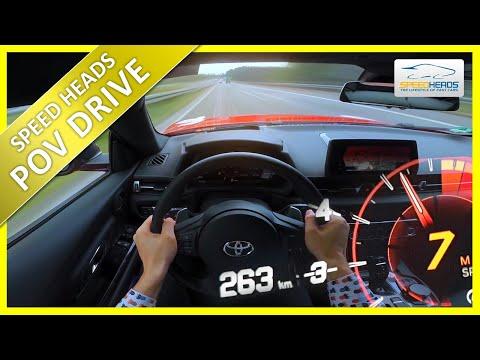 MK5 2.0 Liter Supra - 263km/h auf der Autobahn - POV Video