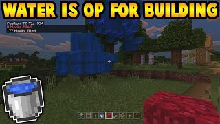 Water Is Over Powered... For Building As Well?