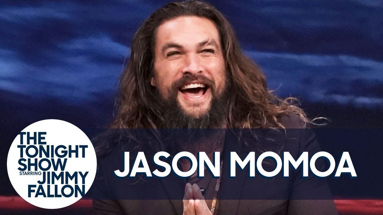 Jason Momoa Talks Aquaman and Hurting Jimmy During Water War thumbnail