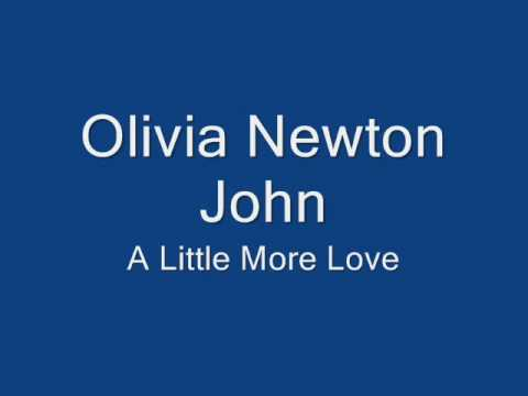 Olivia Newton John-A Little More Love