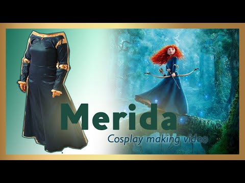 Princess Merida (from Disney's Brave) Cosplay process - by Lagarda Atelier