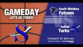 19-20 Lady Turk Basketball vs. South Whidbey