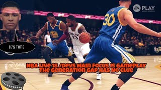 Nba Live 18 Gameplay And Signature Movement Observation And The Generation Gap
