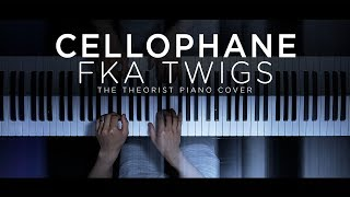 FKA Twigs   Cellophane | The Theorist Piano Cover